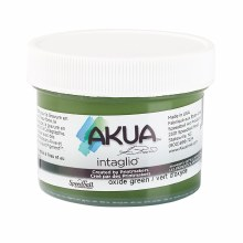 Akua Intaglio Ink, 2 oz. Jars, Green Oxide