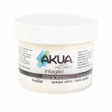 Akua Intaglio Ink, 2 oz. Jars, Opaque White