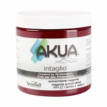 Akua Intaglio Ink, 8 oz. Jars, Quinacridone Magenta