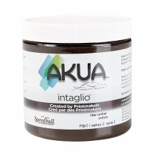 Akua Intaglio Ink, 8 oz. Jars, Raw Umber