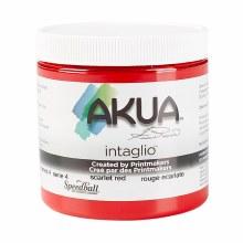 Akua Intaglio Ink, 8 oz. Jars, Scarlet Red
