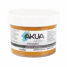 Akua Intaglio Ink, 2 oz. Jars, Yellow Ochre
