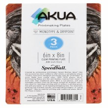 Akua Printing Plates, 3-Packs, 6 in. x 8 in. - 3/Pkg.