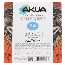 Akua Printing Plates, 24-Packs, 6 in. x 8 in. - 24/Pkg.