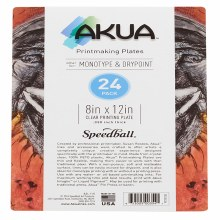 Akua Printing Plates, 24-Packs, 8 in. x 12 in. - 24/Pkg.