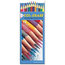 Col-Erase Pencils, Sets, 12-Color Set
