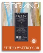 Fabriano Studio Watercolor Pads, Hot-Press, 11 in. x 14 in. - 140 lb., 50 Shts./Pad