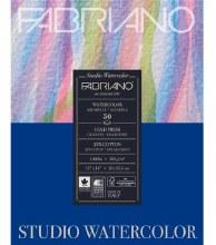 Fabriano Studio Watercolor Pads, Cold-Press, 11 in. x 14 in. - 140 lb., 50 Shts./Pad