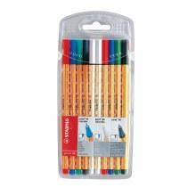 Point 88 Pen Sets, 10-Color Wallet Set