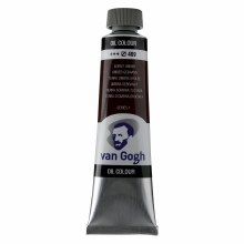 Van Gogh Oil Colors, 40ml, Burnt Umber