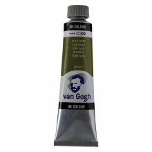 Van Gogh Oil Colors, 40ml, Permanent Olive Green