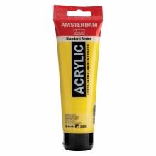 Amsterdam Standard Acrylics, 120ml Tubes, Azo Yellow Light
