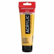 Amsterdam Standard Acrylics, 120ml, Azo Yellow Medium