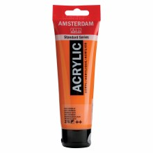 Amsterdam Acrylics, 120ml, Azo Orange