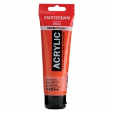 Amsterdam Standard Acrylics, 120ml, Naphthol Red Light
