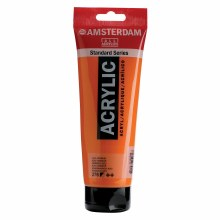Amsterdam Acrylics, 250ml, Azo Orange