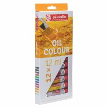 Art Creation Oil Color Sets, 12 Color Set - 12ml Tubes