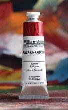 Williamsburg Oil Colors, 37ml, Alizarin Crimson