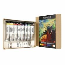 Williamsburg Handmade Oils 8-Color Introductory Sets, Modern Colors Set