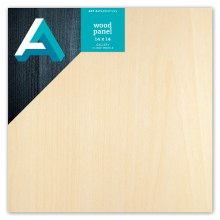 "Wood Gallery Panel, 1-1/2"" Profile, 14"" x 14"""