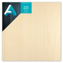 "Wood Gallery Panel, 1-1/2"" Profile, 16"" x 16"""