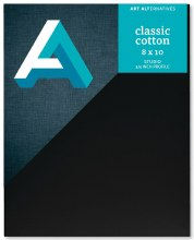 Canvas Panels - Black, 8 in. x 10 in.