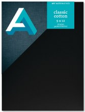 Canvas Panels - Black, 9 in. x 12 in.