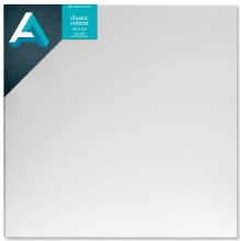 Classic Cotton Stretched Canvas, Gallery Canvas 1-3/8 in. Profile, 20 in. x 20 in.