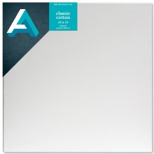 Stretched Studio Canvas,  3/4 in. Profile, 16 in. x 16 in.