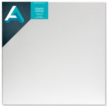 Stretched Studio Canvas,  3/4 in. Profile, 18 in. x 18 in.