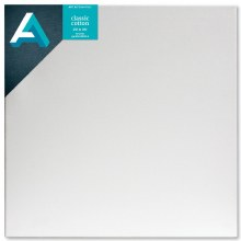 Stretched Studio Canvas,  3/4 in. Profile, 20 in. x 20 in.