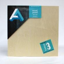 "Wood Panel Value Packs, 12"" x 12"" - Gallery Profile, 3/Pkg."