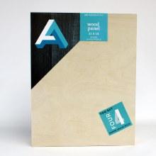 "Wood Panel Value Packs, 11"" x 14"" - Studio Profile, 4/Pkg."