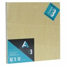 "Wood Panel Value Packs, 12"" x 12"", 5mm Profile - 3/Pkg."