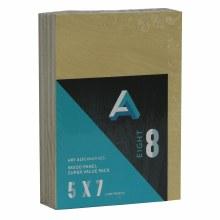 "Wood Panel Value Packs, 5"" x 7"", 5mm Profile - 8/Pkg."