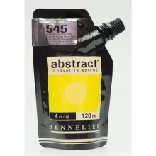 Abstract Acrylics, High Gloss, Cadmium Yellow Lemon Hue - Pouch Bag