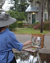 Amy Peterson - Plein Air on 20th Street