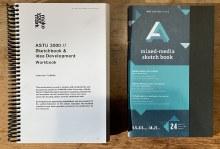 UNT ASTU 3000 Workbook & Mixed Media Sketchbook - Spring 2021