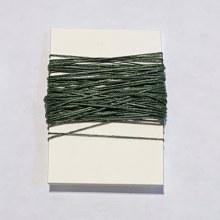 Waxed Linen Binder's Thread, Dark Emerald