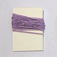 Waxed Linen Binder's Thread, Lavender
