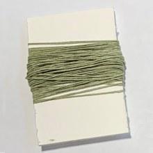 Waxed Linen Binder's Thread, Olive