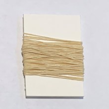 Waxed Linen Binder's Thread, Natural