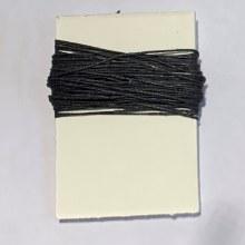 Waxed Linen Binder's Thread, Black