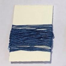 Waxed Linen Binder's Thread, Blue