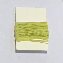 Waxed Linen Binder's Thread, Light Green