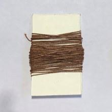 Waxed Linen Binder's Thread, Walnut