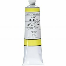 M. Graham Oil, Azo Yellow, 150ml
