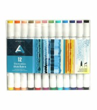 Illustration Marker Sets, 12-Marker Set