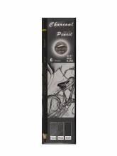 Charcoal Pencil Set, 6-Pencil Set
