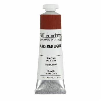 Williamsburg Oil Colors, 37ml, Mars Red Light